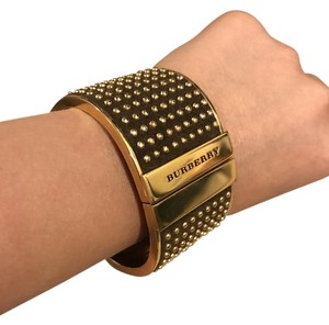 Burberry Gold Burberry bangle bracelet