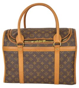 Louis Vuitton Lv Sac Chien 40 Brown Travel Bag