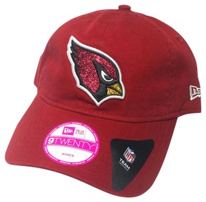 New Era Arizona Cardinals New Era Women Ladies Glisten Sparkle Bling Red Hat