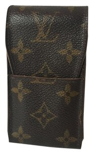 Louis Vuitton A79 Monogram Etui Iphone4, 5, 5c, 5s case Cigarette Case.