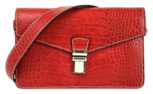 Lodis Leather Reptile Night Out Date Night Casual Shoulder Bag