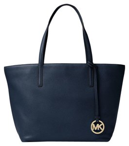 Michael Kors Mihael Tote in Navy Gold