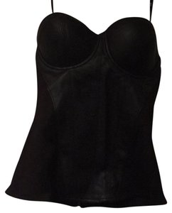 Guess Bustier Out Date Night Top Black