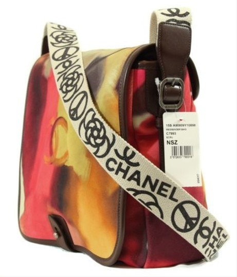 Chanel Purse Crossbody Handbag Multicolor Messenger Bag