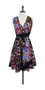 Yumi Kim short dress Multi Color Floral Silk Wrap on Tradesy