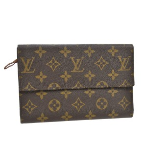 Louis Vuitton K200 RARE VINTAGE LARGE WALLET SET MONOGRAM CANVAS