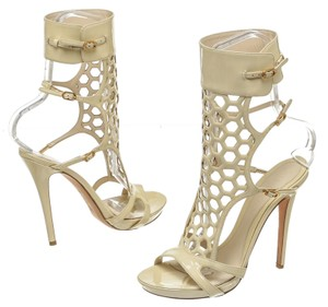 Alexander McQueen Cream Sandals