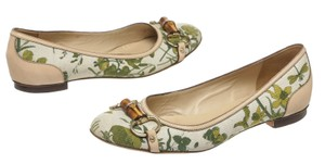 Gucci Cream/Multicolor Flats