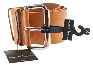 Nanette Lepore Nanette Lepore Women's Tan Leather Belt, Size S (3657)