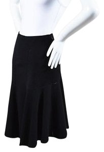 ALAÏA Alaia Virgin Wool Skirt Black