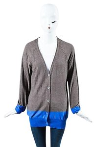 Alexander Wang T Taupe Blue Sweater