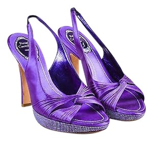 Rene Caovilla Indigo Purple Pumps