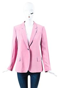 Gucci Crepe Single Button Pink Jacket