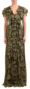 Khaki Green Maxi Dress by VIKTOR & ROLF