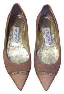 Jimmy Choo Neutral Flats