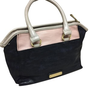 Steve Madden Satchel in navy, cream, pink