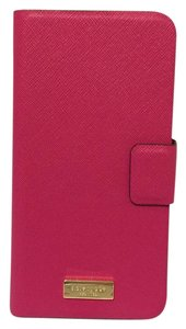 Kate Spade NEW!!! Tags Pink Leather iphone 6 PLUS Phone Case
