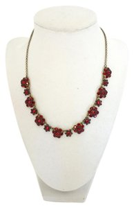 Michal Negrin Michal Negrin Ruby Red Flower Necklace 18