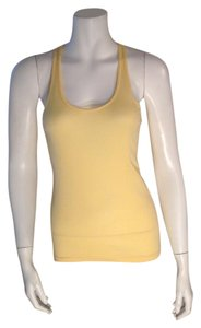 American Apparel Top Canary Yellow