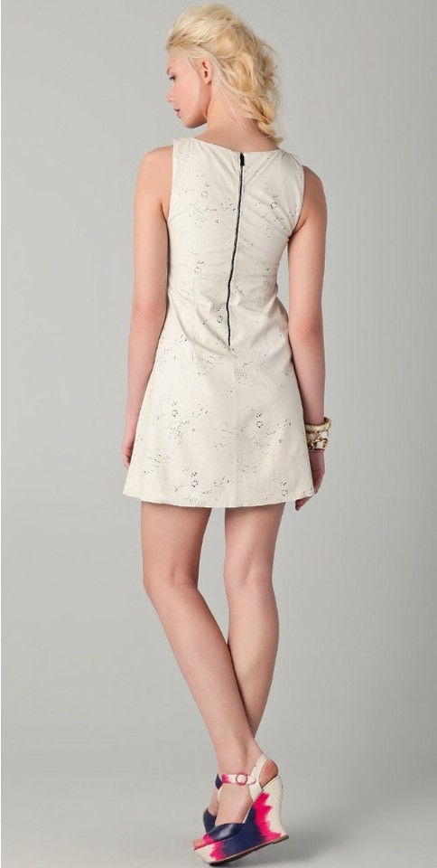 Alice Olivia Leather Dress 12345678