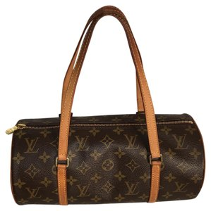 Louis Vuitton Satchel in Brown & Tan