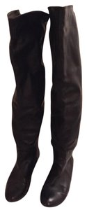 White Mountain Over The Knee Black Boots