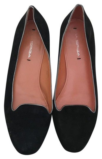 Preload https://img-static.tradesy.com/item/20085337/via-spiga-black-suede-loafers-with-dark-silver-trim-flats-size-us-85-regular-m-b-0-1-540-540.jpg