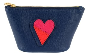Tory Burch Tory Burch Kerrington Heart Applique Small Trapeze Cosmetic Case