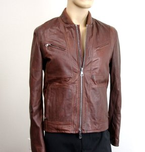 Gucci Brown W New Men's W/Removable Shearling Inner Eu 48/ Us 38 295692 Groomsman Gift