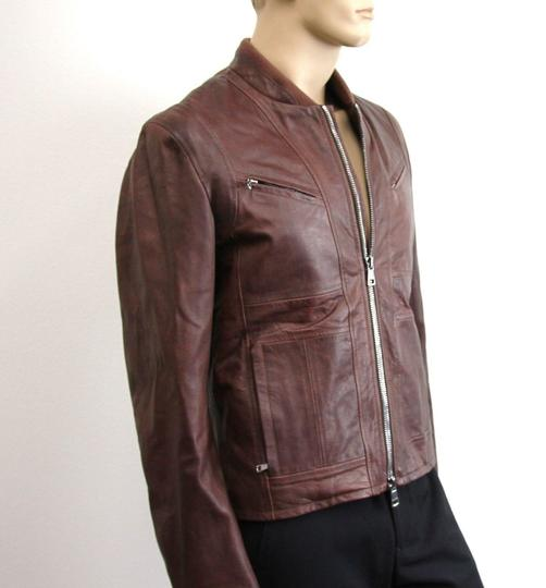 Gucci Brown W New Men's W/Removable Shearling Inner Eu 48/ Us 38 295692 Groomsman Gift Image 1