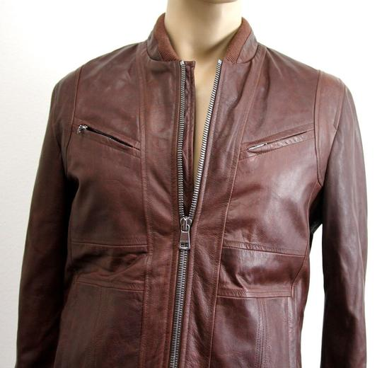 Gucci Brown W New Men's W/Removable Shearling Inner Eu 48/ Us 38 295692 Groomsman Gift Image 2