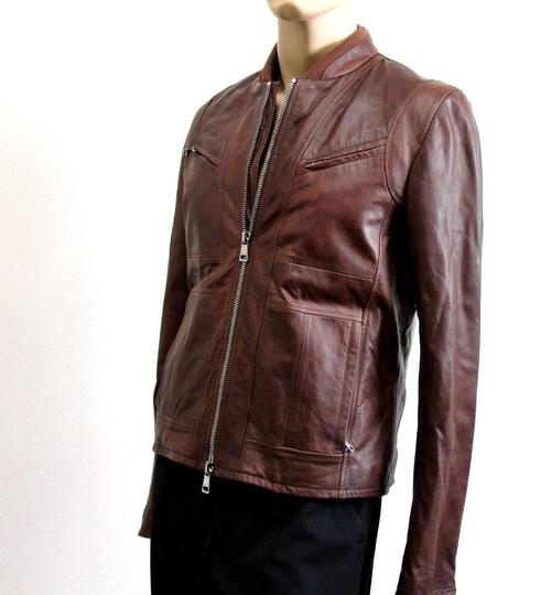 Gucci Brown W New Men's W/Removable Shearling Inner Eu 48/ Us 38 295692 Groomsman Gift Image 3