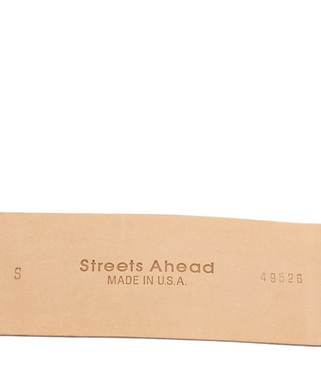 Streets Ahead Leather Belt, Size S (3664) Image 1