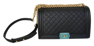Chanel New Medium Caviar Gold Hardware 2017 Shoulder Bag