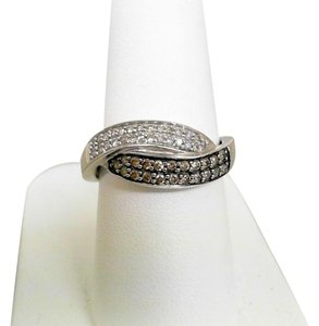 Other Chocolate and White Diamond Ring