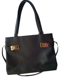 Salvatore Ferragamo Tote in Black black