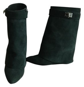 Givenchy Green Boots
