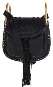 Chloé Chloe Leather Satchel in Black