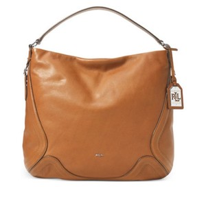 Ralph Lauren Leather Stylish Lauren Hobo Bag