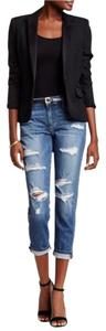 JOE'S 7 For All Mankind Hudson Boyfriend Cut Jeans-Medium Wash