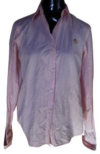 Ralph Lauren Cuff Detail Button Down Shirt pink