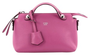 Fendi Leather'pink Satchel in Pink