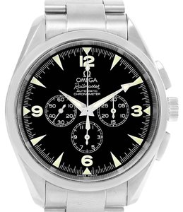 Omega Omega Aqua Terra Railmaster Mens Chronograph Watch 2512.52.00