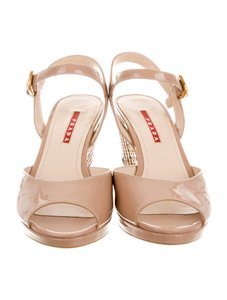 Prada Blush/Neutral Wedges