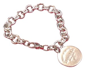Tiffany & Co. Return to Tiffany & Co. Round Bracelet.