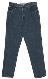 Gap Stonewash Tapered Relaxed Fit Jeans-Dark Rinse