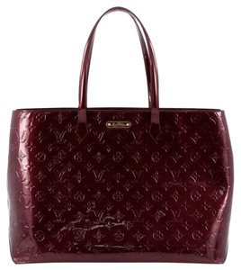 Louis Vuitton Vernis Tote in Rouge Fauviste