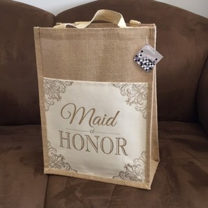 Maid Of Honor Large Tote Gift Bag