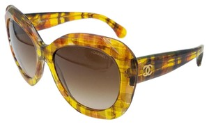 Chanel Butterfly Chanel Multi Yellow/ Brown Sunglasses 5323 c. 1523/S5 56