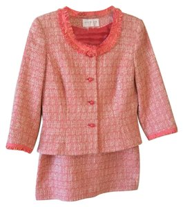 Liz Claiborne Cropped Jacket Suit